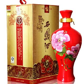 西鳳酒(スピリッツ)国花瓷5年  アルコール度数45%