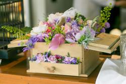 bespoke silk flower prop