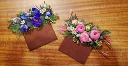 floral pocket squares