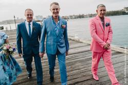 gay wedding florals
