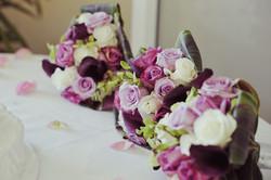 3 bridal party bouquets