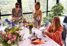 Wildflower Concepts flower crown workshop