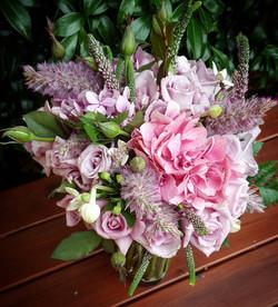 romantic pink bouquet