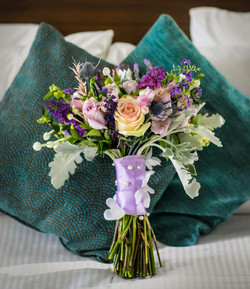 whimsical bridal bouquet
