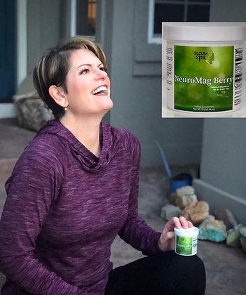 Bloom Spa NeuroMag Berry Powder 75 Grams (2.64 oz)