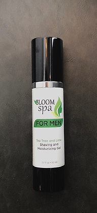 Bloom Spa For Men Shaving Moisturizing Gel 1.7 oz.