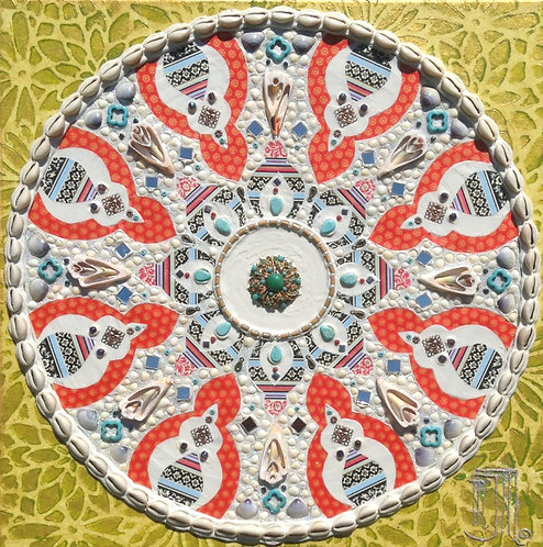 Occupy the Present (Mandala)