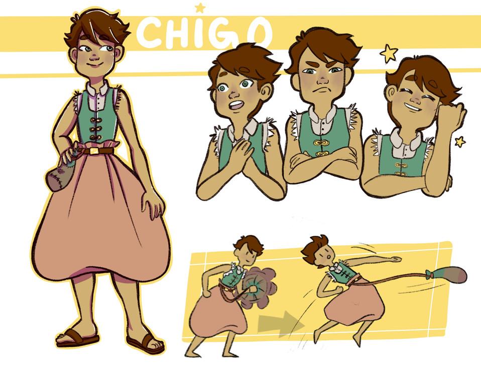 Chigo Character Sheet