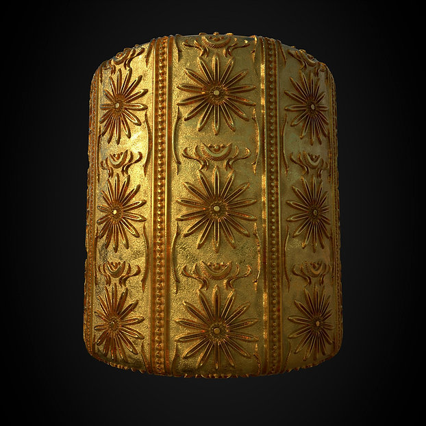 substance pbr gold material