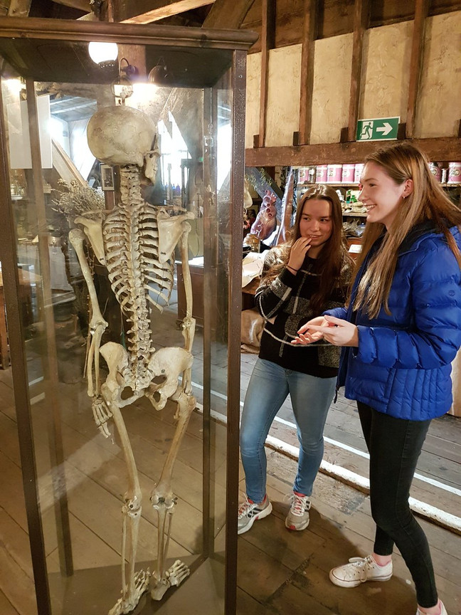 A trip to the Old Operating Theatre, London