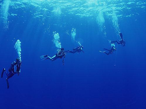 Fun dives plongeur confimé Pulau Payar open sea Enfant