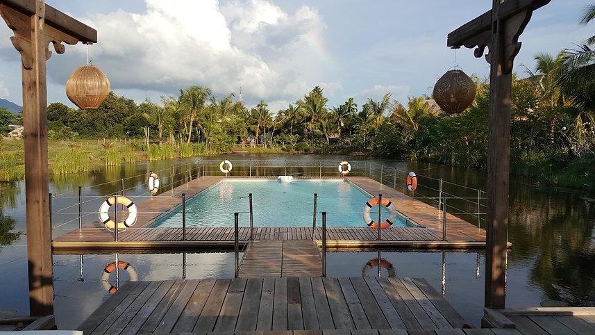 Piscine flottante Kunang Kunang Resort Langkawi