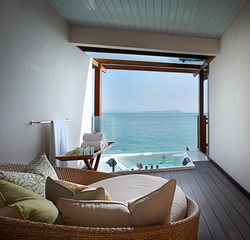Berjaya-Langkawi-Resort-Premier Suite On Water - Semi Outdoor Lounge & Jacuzzi