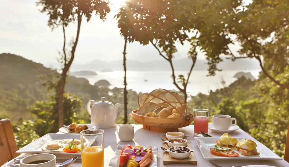 Complimentary Breakfast In-Villa