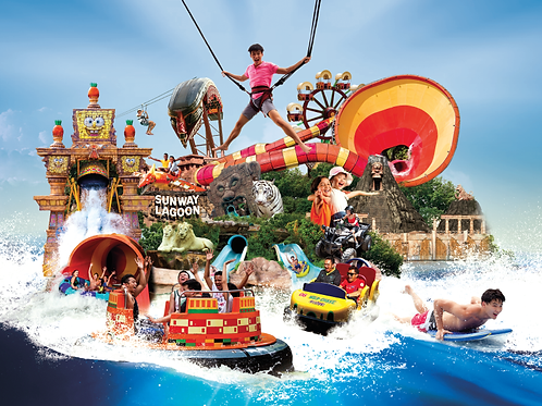 Sunway Lagoon ticket adulte