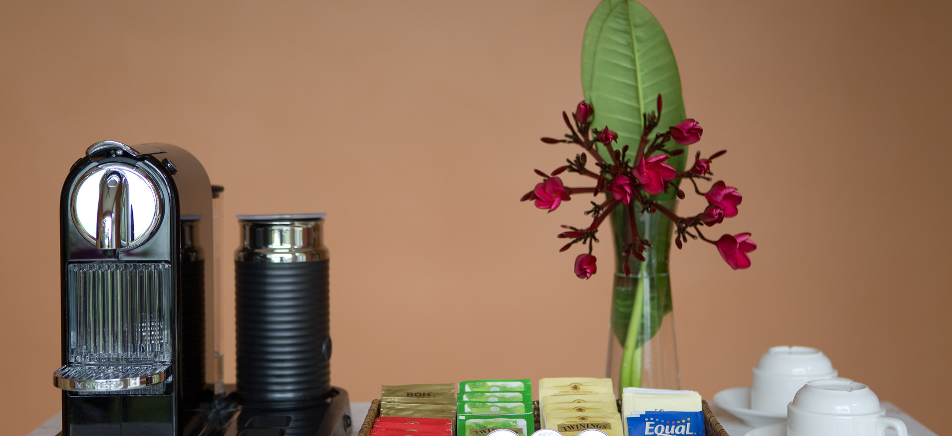 Coffee _ Tea Amenities In-Villa