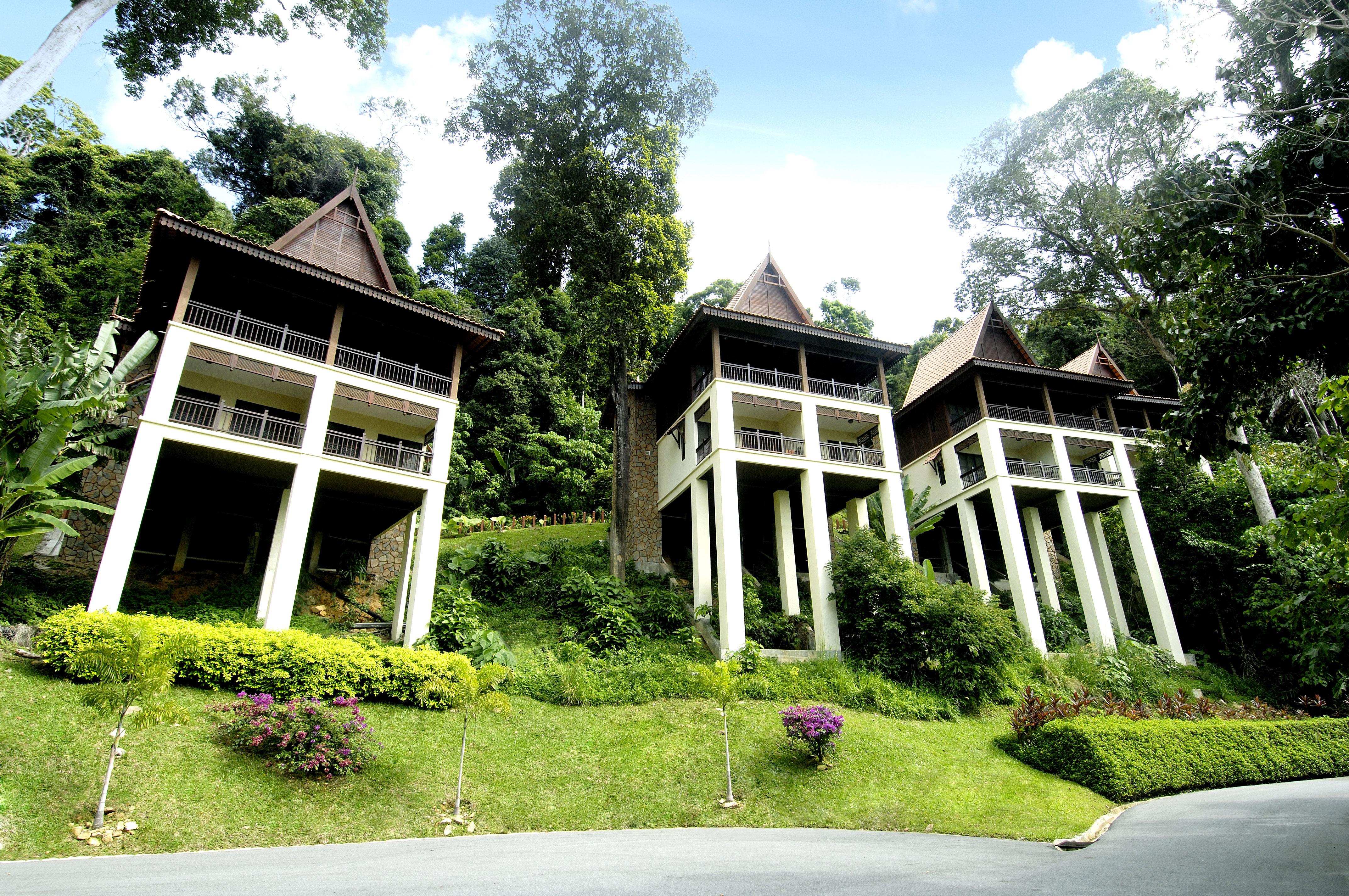 Berjaya-Langkawi-Resort-Premier Chalet - Facade