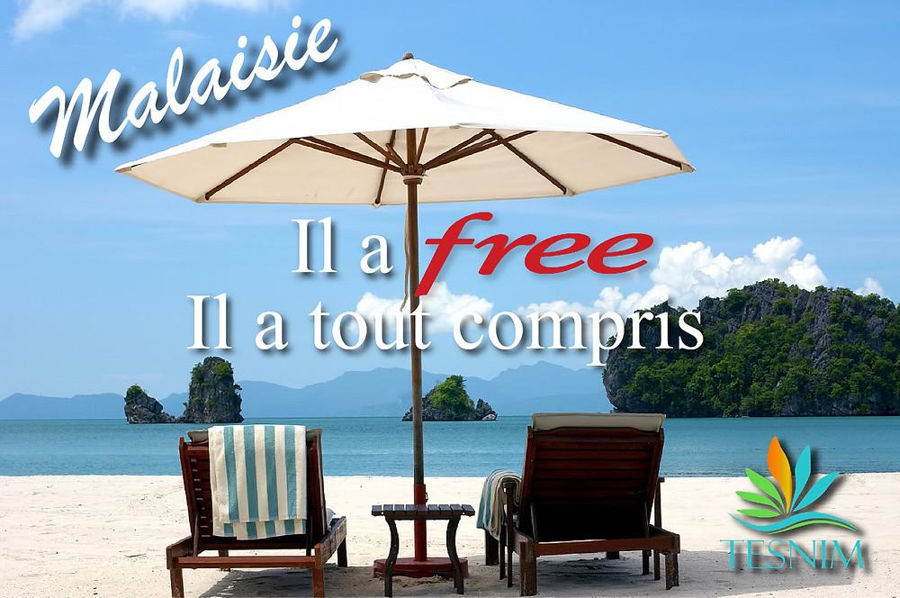 Forfait Free mobile malaisie
