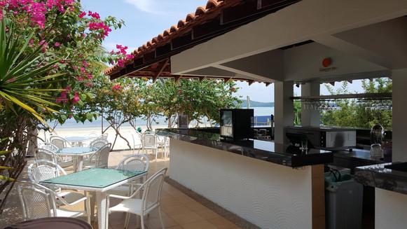 Restaurant front de plage