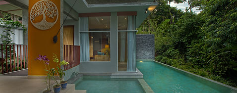 Voyage halal Malaisie villa piscine privée Langkawi