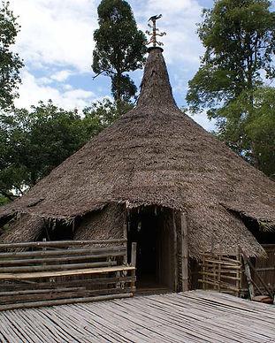 Bidayauh house