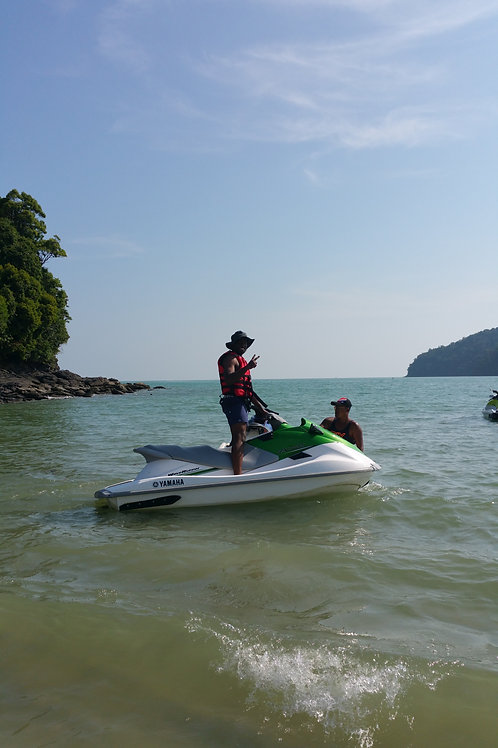 Jet Ski tour 6 heures package C