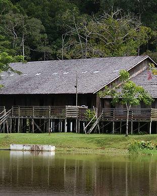 longhouse borneo