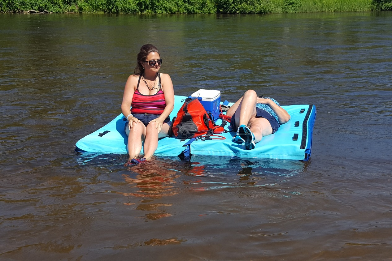 Float-N-Chill River Swim Raft