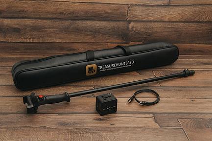 Treasure Hunter 3D gold detector GoldenEye Plus Golden Eye Review test working package