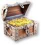 Treasure Hunter 3D detecting  treasure chest