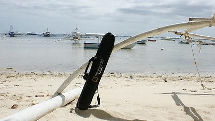 Treasure Hunter 3D gold metal detector on the beach case