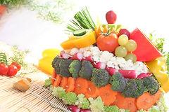 Buisson légumes cocktail dînatoire traiteur Roubaix