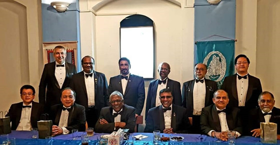 SPECIAL WORSHIPFUL MASTER'S NIGHT HELD IN MALACCA