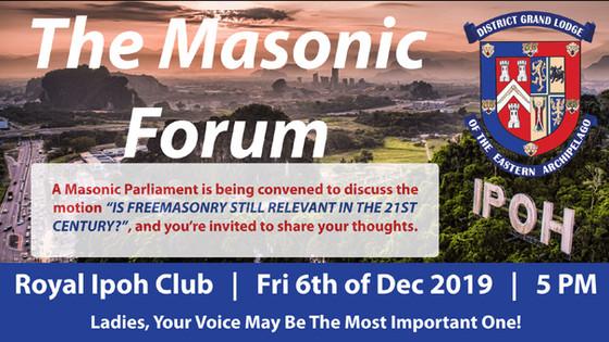 The Masonic Forum, Executive Summary