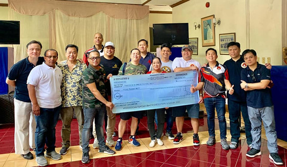 LODGE SINGAPORE NO. 7178 E.C. SPREADS ITS WINGS  IN THE NAME OF CHARITY