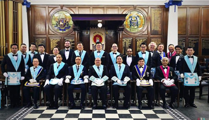 THE CHARITABLE HAPPENINGS OF LODGE SINGAPORE NO. 7178 E.C. FOR 2019