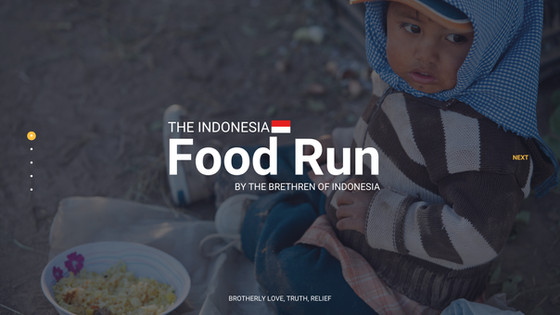 The Indonesia Food Run