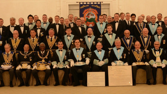 The ASHLAR – Report on The Lodge of St. George's 150th Anniversary