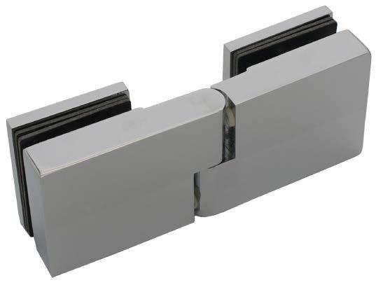 ציר זכוכית זכוכית 180 עם מגביה דלת - ARC-06.S4193.01