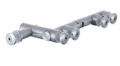 ציר מנט עם חיבור לקבוע צד - AR-9000A-21
