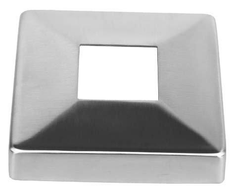 רוזטה מוגבהת לפרופיל מרובע 40/40 - SPF-7108.040