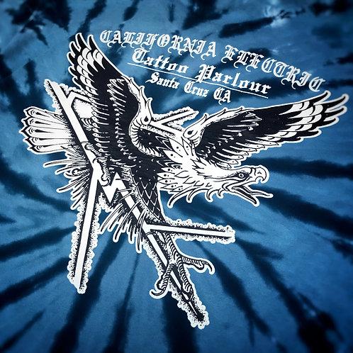Tie Dye Eagle (blue)