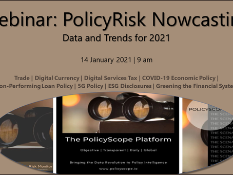 Webinar January 14: PolicyRisk Nowcasting