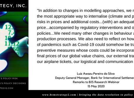 QOTD -- COVID19 Meets Climate Risk