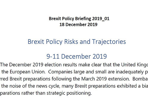 Brexit Policy Briefing_Issue 2019_01