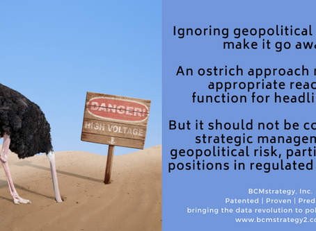 How and Why Geopolitics and Headline Risk Are Different