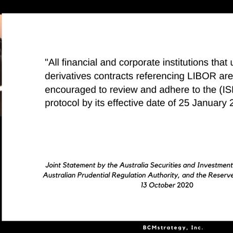 QOTD -- #LIBOR in Australia