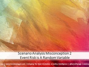 Scenario Analysis Misconceptions (2 of 3): Event Risk Random Variables
