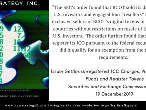 #QOTD -- ICO Regulation