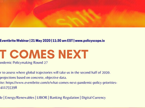 Webinar Announcement:  Pandemic Policymaking (Round 2)